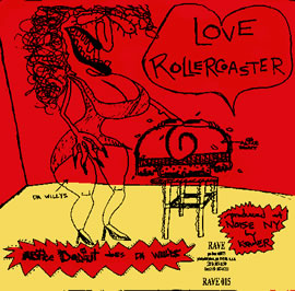 Alice Donut, Love Roller Coaster / Egg (Split Single with Da Willys)